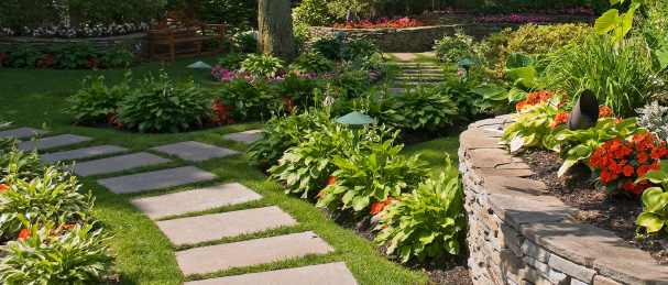 Landscape design in central florida your green team for Green landscape design