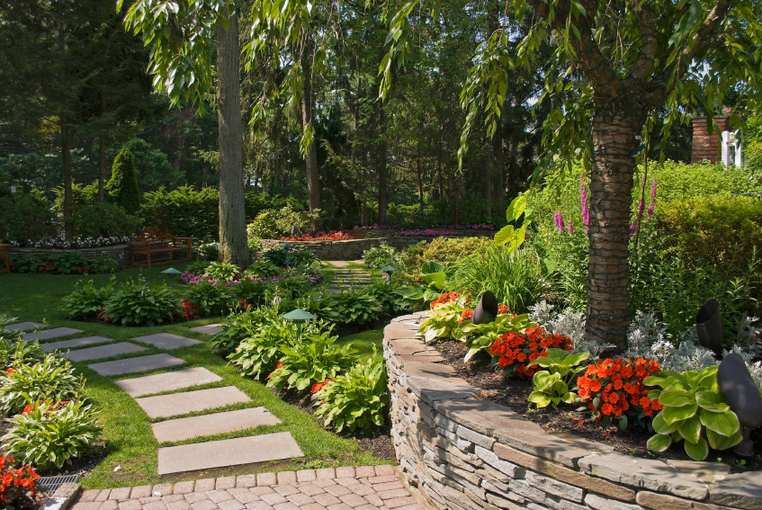 Landscape design in fish hawk fl your green team for The garden design team newark